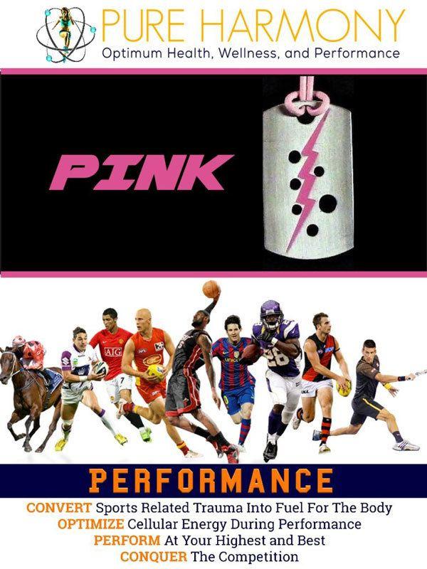 Performance Pendant Pink