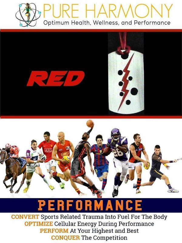 Performance Pendant Red
